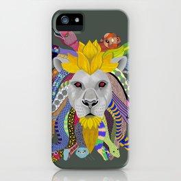 Medusa Lion(ess) iPhone Case