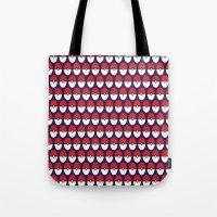 pokeball Tote Bags featuring Pokeball Pattern by Jennifer Agu