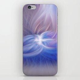 A Winter Night Twirled iPhone Skin