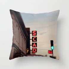 SCAD Throw Pillow