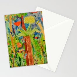 Paradise Delight | Kids Painting by Elisavet Stationery Cards