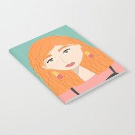 CINDY | Female Digital Illustration Notebook