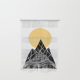 Sun Over The Mountains Wall Hanging