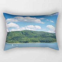 Lake Solina Rectangular Pillow