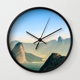 Rio de Janeiro Panoramic Photography Wall Clock