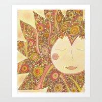 Even the Sun Needs a Nap Art Print