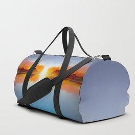 Minimal Landscape 22 Duffle Bag