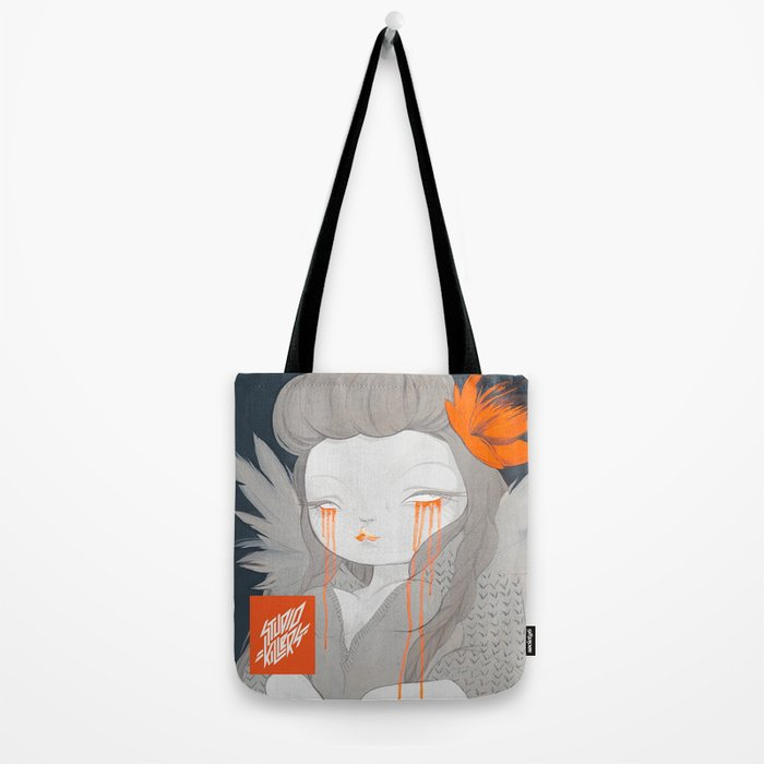 Hawaiian Raven Tote Bag