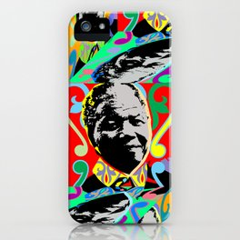 AFRICA / MANDELA no 1 iPhone Case
