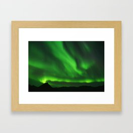 The Northern Lights 07 Framed Art Print