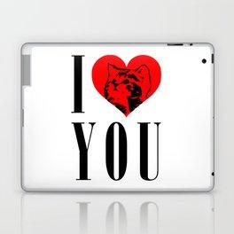 I Heart You Kitty Laptop & iPad Skin