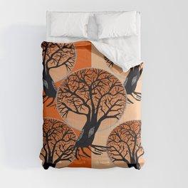 Fall Trees Comforters