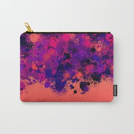 paint splatter on gradient pattern bry Carry-All Pouch