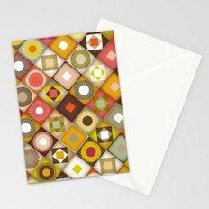 parava retro diagonal Stationery Cards