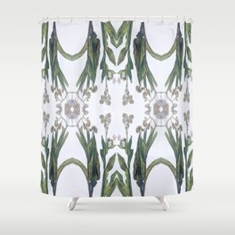Forget Me Nots Study Dos Shower Curtain