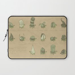 A Study of Turtles Laptop Sleeve