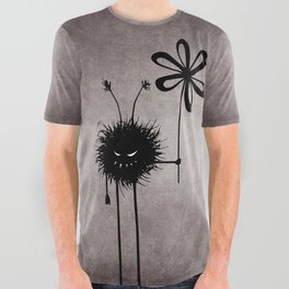 Evil Flower Bug All Over Graphic Tee