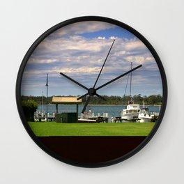 Town Centre - Metung - Australia Wall Clock