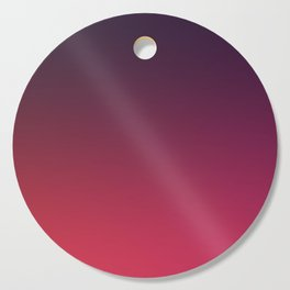 DEEP DISTILLED - Minimal Plain Soft Mood Color Blend Prints Cutting Board