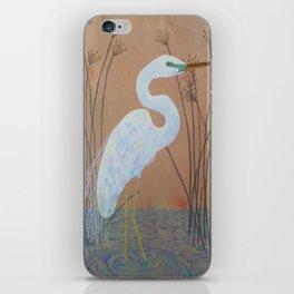 Unicorn Egret iPhone Skin