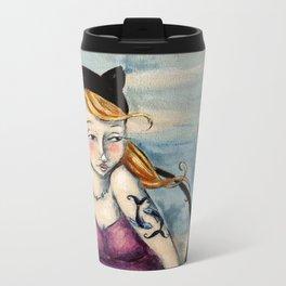 Sparrow Metal Travel Mug