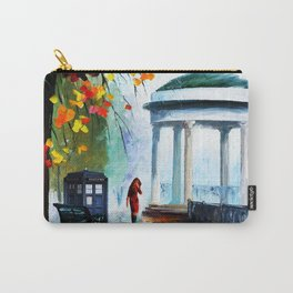 Tardis Stay Watching The Girl Carry-All Pouch
