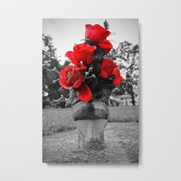 Red is permanence  Metal Print