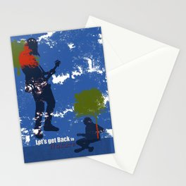 Let's get back to nature-Music. Stationery Cards