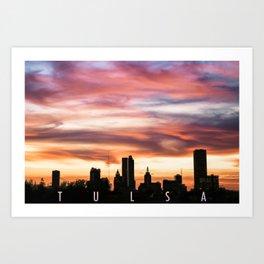 The Beauty of Tulsa Art Print