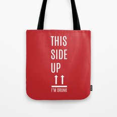 This side up Tote Bag