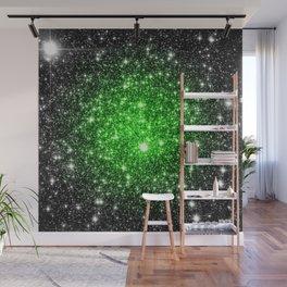 galAxy. Stars Lime Green Wall Mural