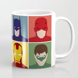 Minimalist Heroes Coffee Mug