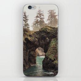 Fog at Natural Bridges iPhone Skin