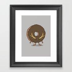The Donutalope Framed Art Print