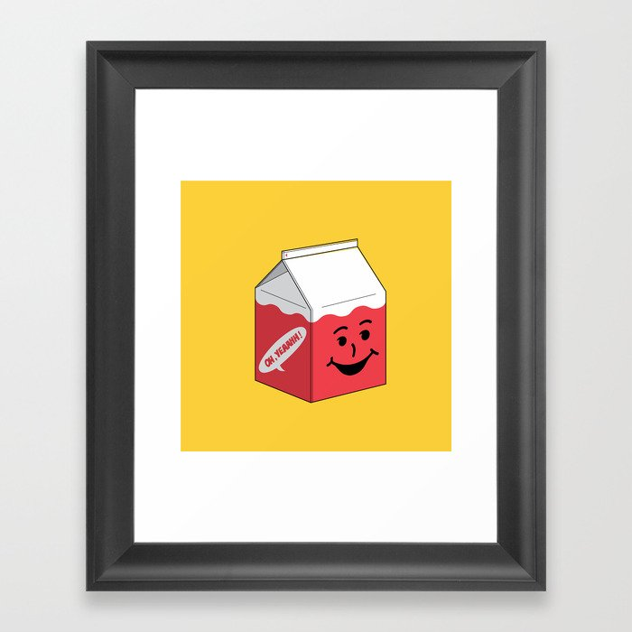 Kool Aid in a box Framed Art Print