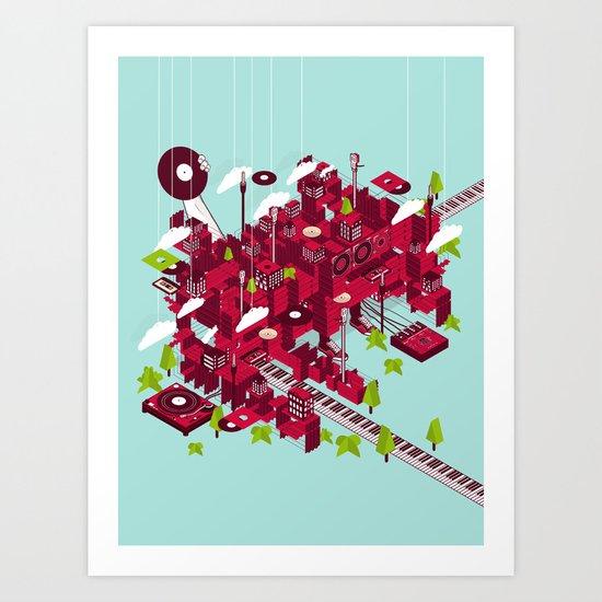 Sound City Art Print