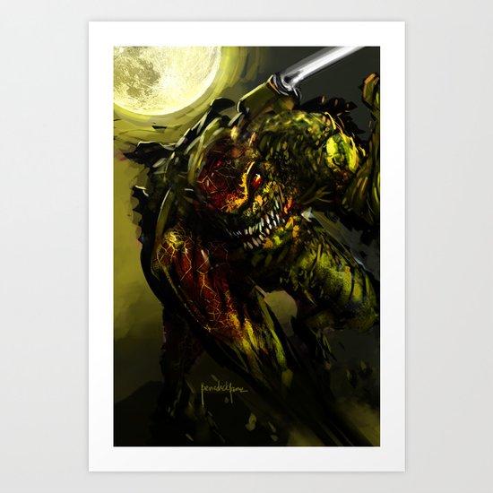 Ravage Art Print