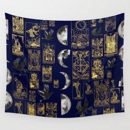 beautiful pagan themed tarot print Wall Tapestry