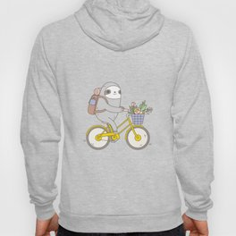 Biking Sloth Hoody