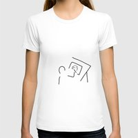 architect T-shirts featuring architect technical draftsmen by Lineamentum