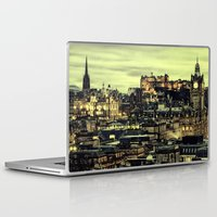 edinburgh Laptop & iPad Skins featuring Edinburgh by EclipseLio