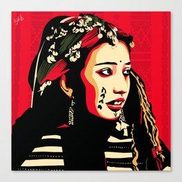 Tamettut chawiya - Women from the chaoui tribes Canvas Print