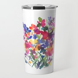 Flower Sprinkles Travel Mug