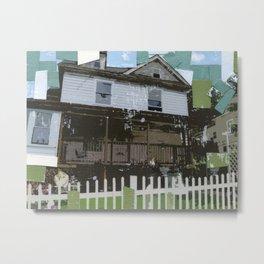 adams family house Metal Print