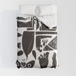 Cryptids Comforters