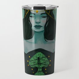 Queen of Spades Travel Mug