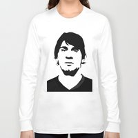 messi Long Sleeve T-shirts featuring messi by b & c