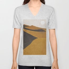 Minimal Dunes Unisex V-Neck