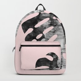 Composition tropical leaves XX Backpack