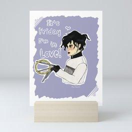 The cure for scissorhands  Mini Art Print